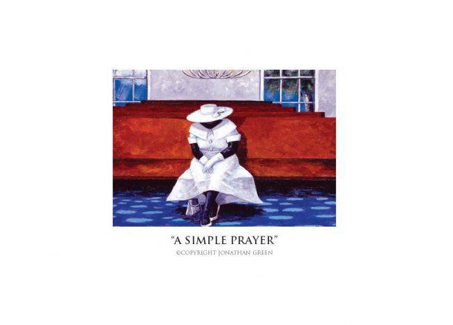 A Simple Prayer notecard