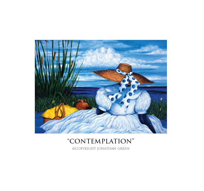 Contemplation notecard