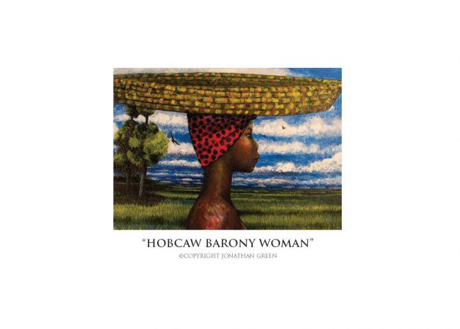 Hobcaw Barony Woman notecard