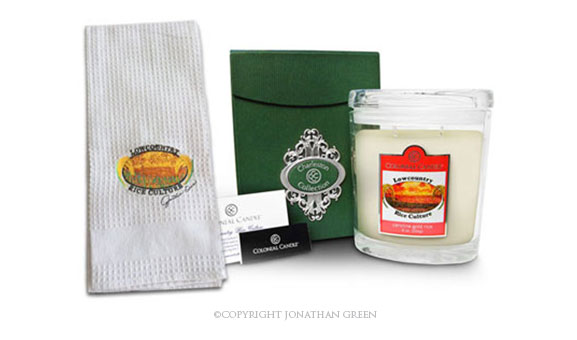 Towel and Candle by Jonathan Green Collection
