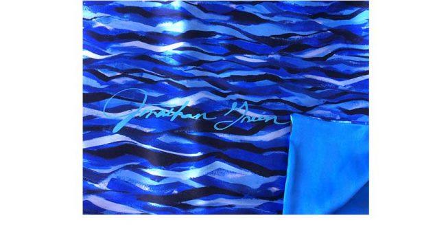 Evening Seascape Shawl