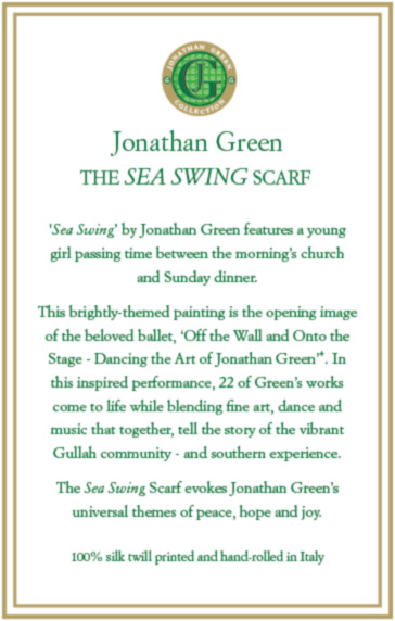 Sea Swing Romance Card